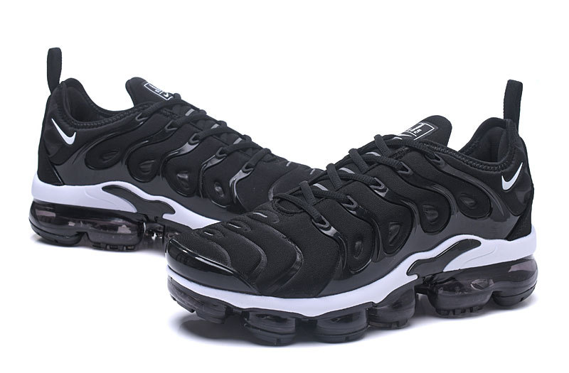 Nike Air Vapormax Plus 2018 TN Black White Shoes