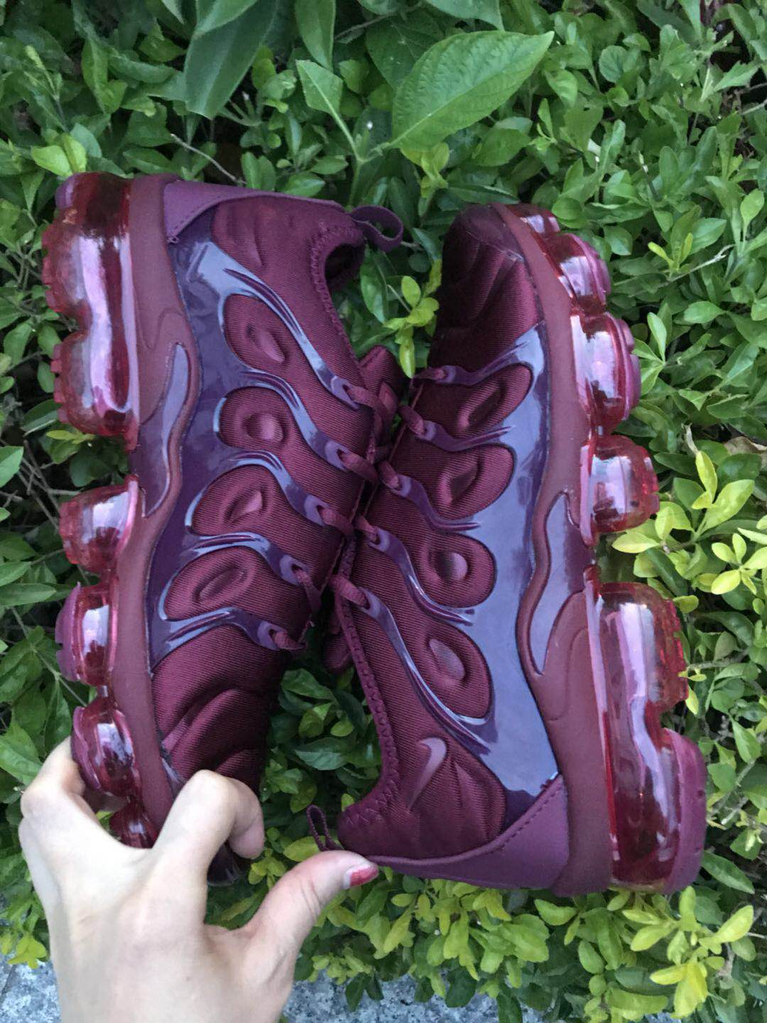 Nike Air Vapormax Plus 2018 TN Wine Red Black Shoes