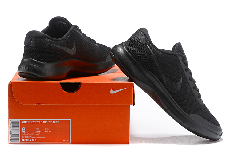 2019 Nike Flex Experience RN7 All Black Shoes