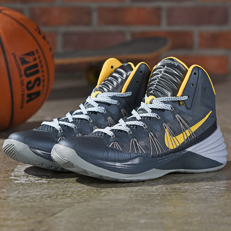 2019 Real Nike Hyperdunk XDR Olympic Black Grey Yellow