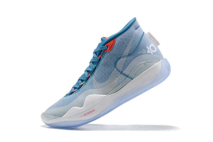 2019 Nike KD 12 Baby Blue White Basketball Shoes
