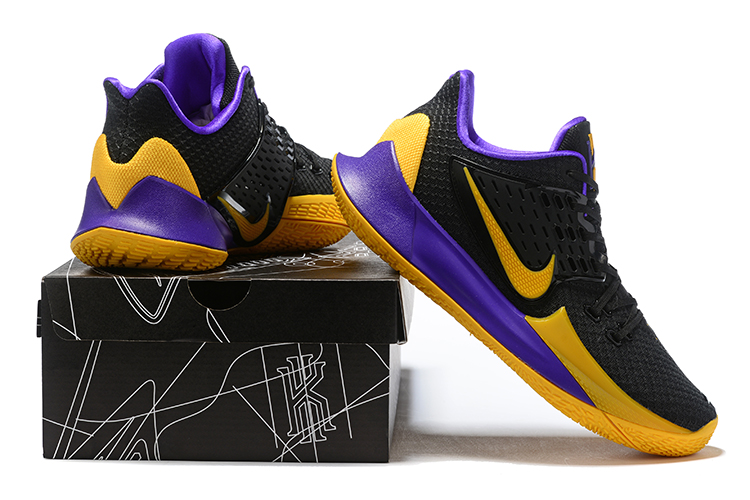 2019 Real Nike Kyrie 2 Low Black Yellow Purple
