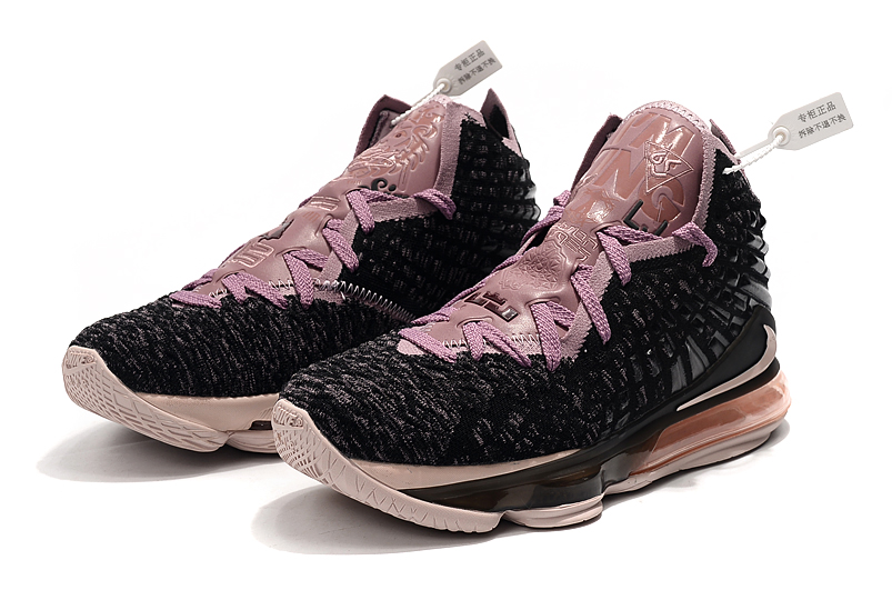 2019 Nike LeBron 17 Black Pink For Women
