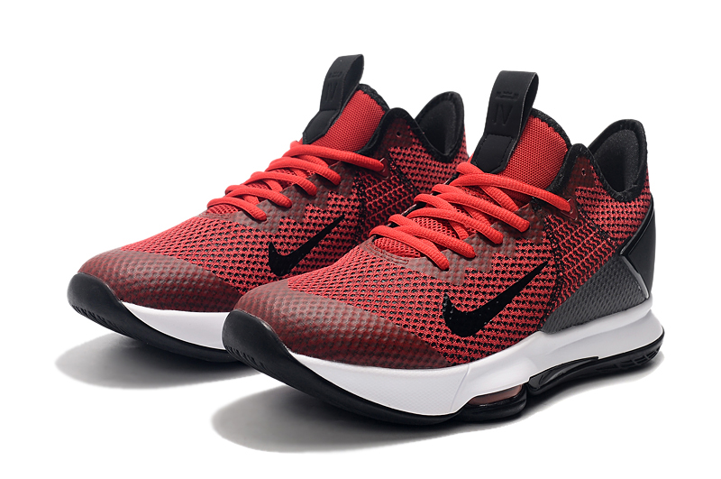 2019 Real Nike LeBron Witness 4 Wine Red Black White