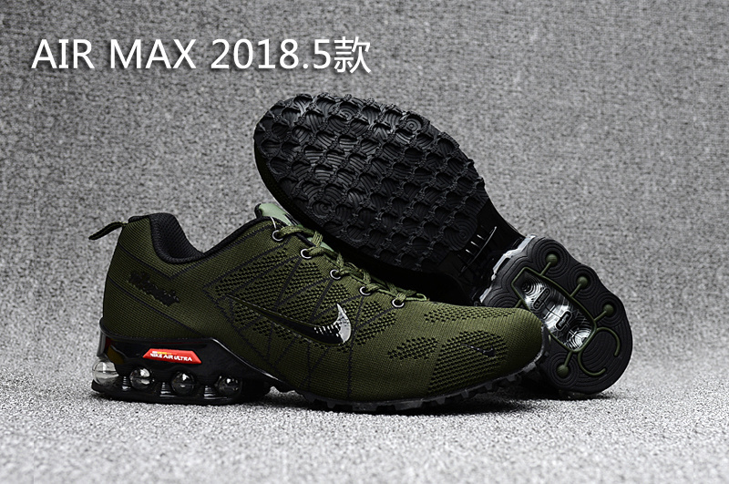 Nike Shox Air Max 2018.5 Army Green Black