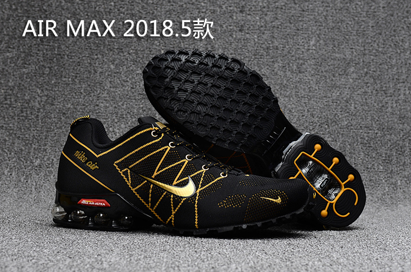 Nike Shox Air Max 2018.5 Black Gold