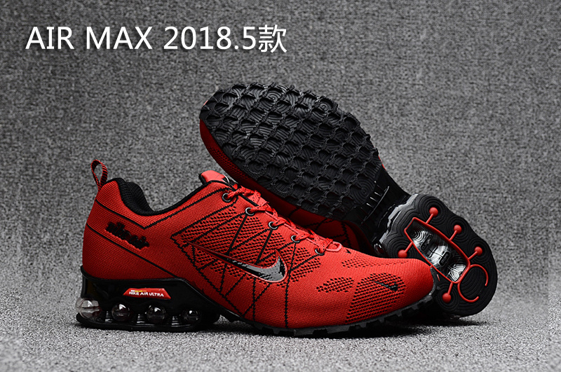 Nike Shox Air Max 2018.5 Red Black