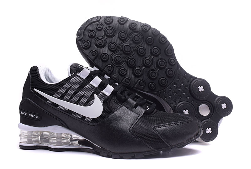 Nike Shox Avenue Black White
