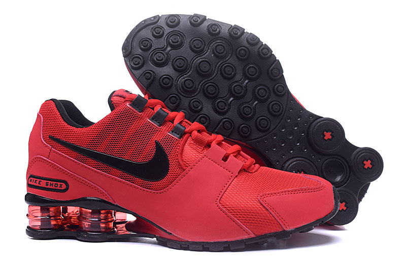 Nike Shox Avenue Red Black