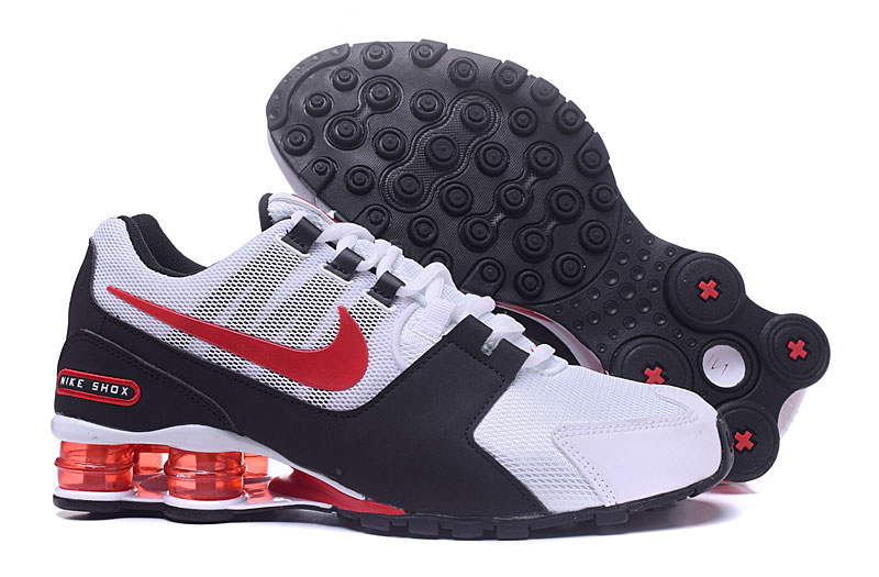 Nike Shox Avenue White Red Black