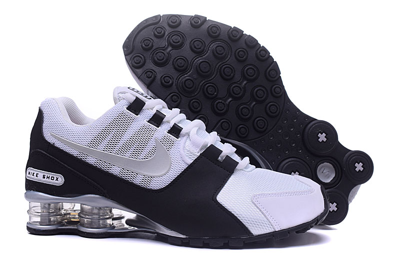 Nike Shox Avenue White Silver Black