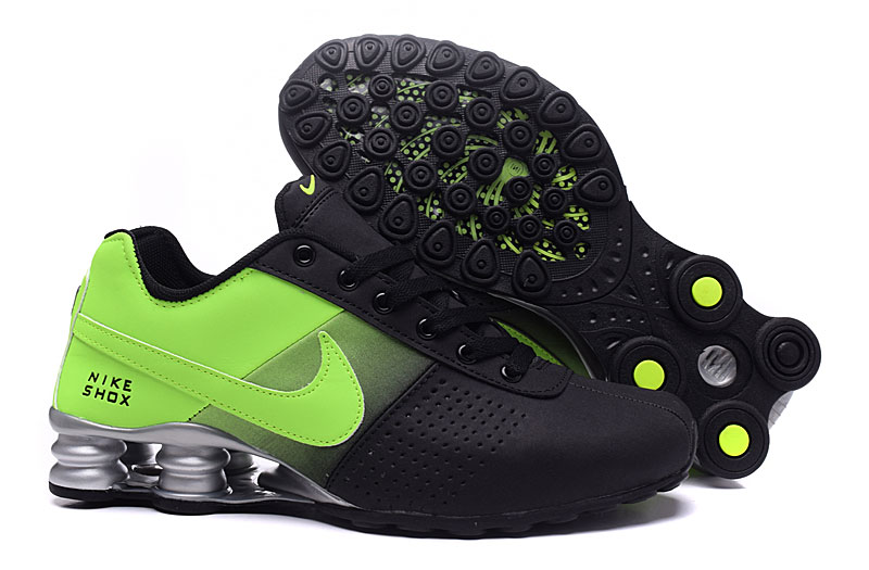 Nike Shox Delivery Black Green
