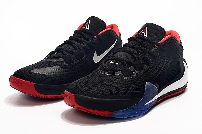 2019 Nike Zoom Freak 1 Black Red White Blue