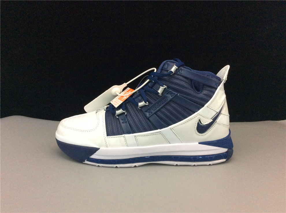 New Release Nike Zoom LeBron 3 SuperBron Blue White