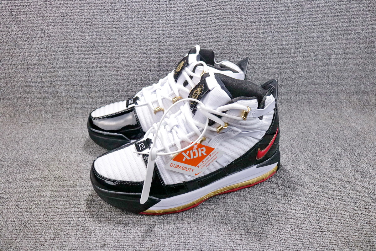 New Release Nike Zoom LeBron 3 SuperBron White Black Orange