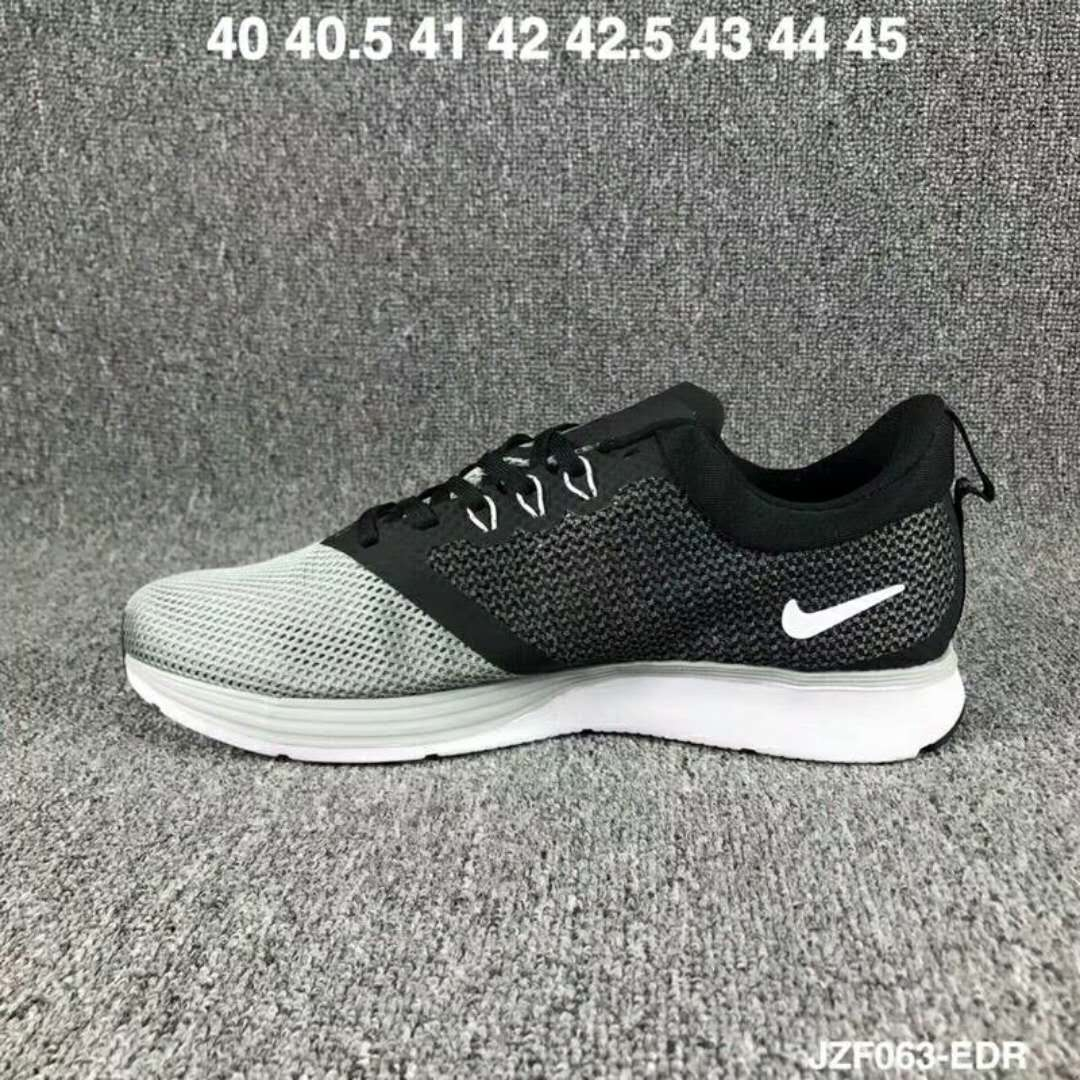 2019 Nike Zoom Strike Black Grey Shoes