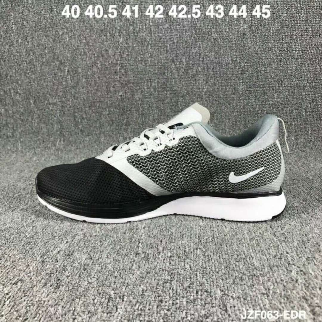 2019 Nike Zoom Strike Black Grey White Shoes