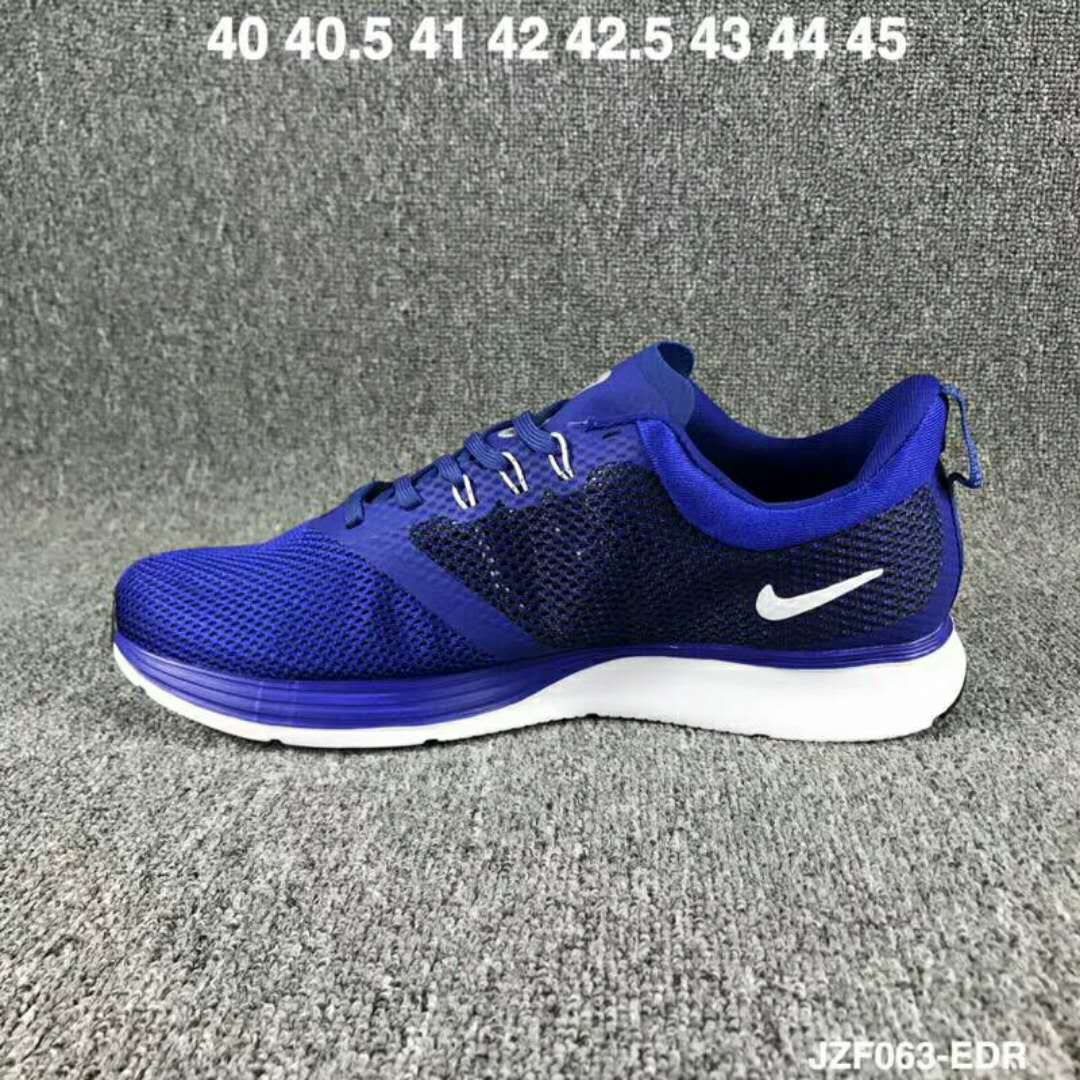 2019 Nike Zoom Strike Blue Black White Shoes