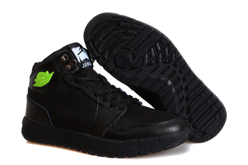 Nike Jordan 1 Trek All Black Climbing Shoes
