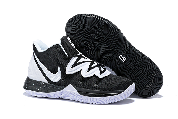 Nike Kyrie 5 Shoes Black White Ying Yang