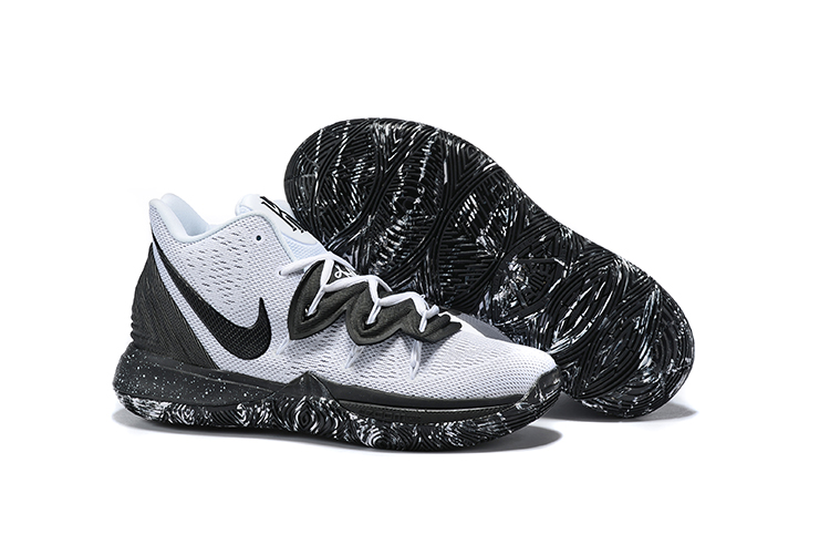 Nike Kyrie 5 Shoes Oreo Theme