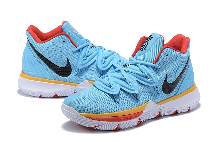 Nike Kyrie 5 Shoes Sky Blue Orange