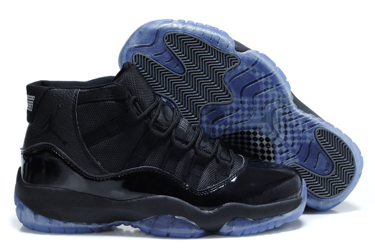 Sale Air Jordan 11 Retro Blackout All Black Ice Sole
