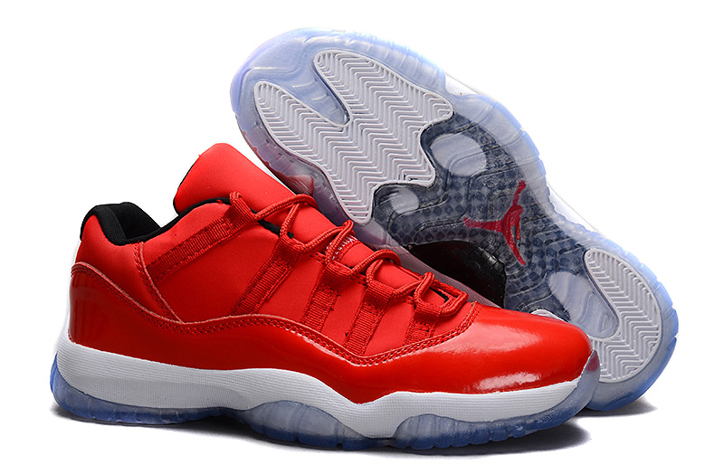 Sale Air Jordan 11 Retro Low Red PE Carmelo Anthony Red White For Cheap