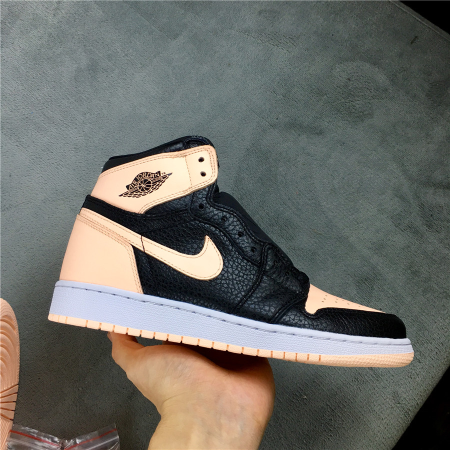 New Women Air Jordan 1 Retro Crimson Tint Pink