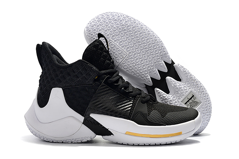 2019 Real Women Jordan Why Not Zer0.2 Black Gold White