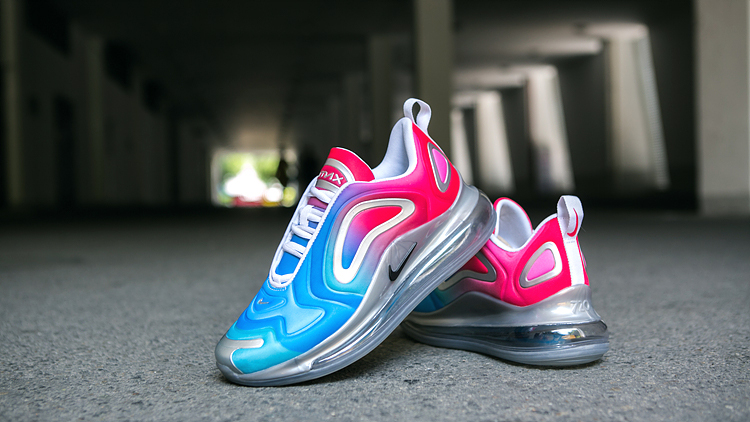 Women Nike Air Max 720 Red Blue White Shoes