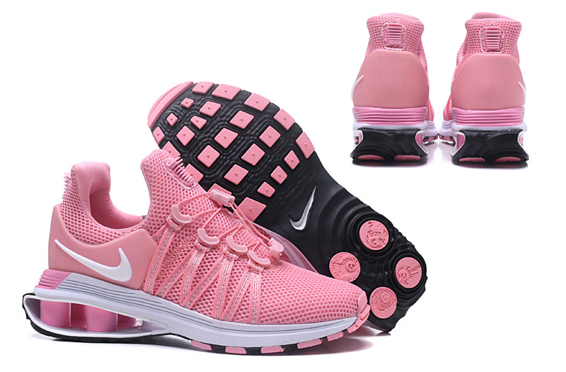 Women Nike Shox 908 Grey Pink White