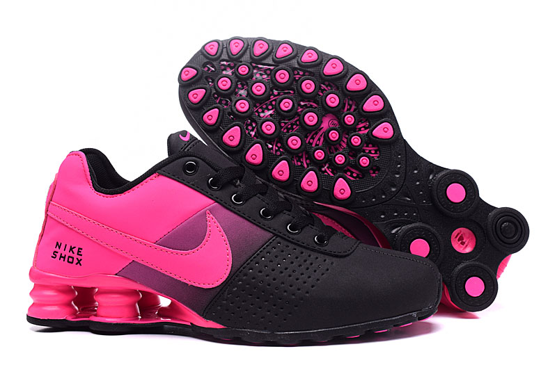 Women Nike Shox Delivery Black Peach