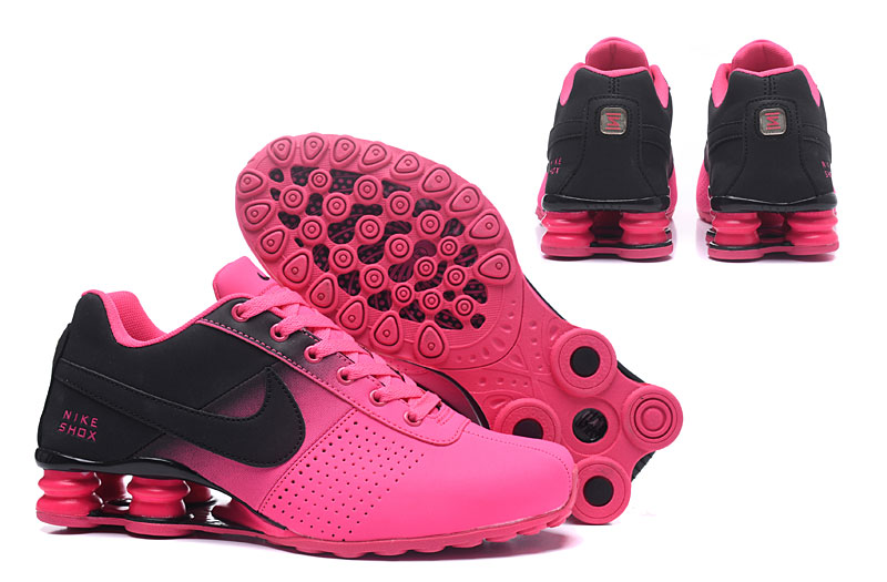 Women Nike Shox Delivery Peach Black