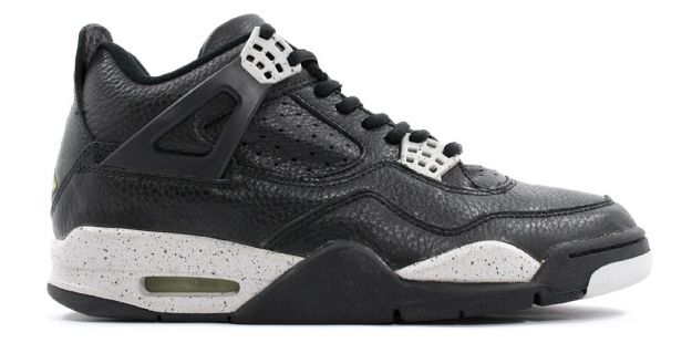 cheap authentic jordan 4 1999 black black cool grey shoes