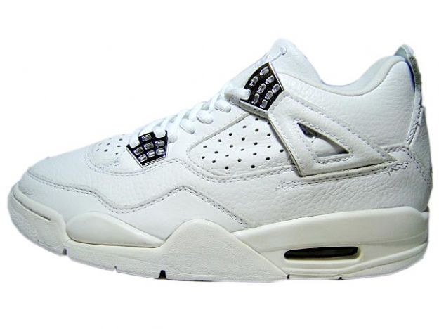 cheap authentic jordan 4 2000 white chrome shoes