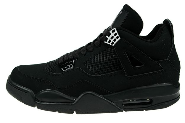 cheap authentic jordan 4 black cat light graphite shoes