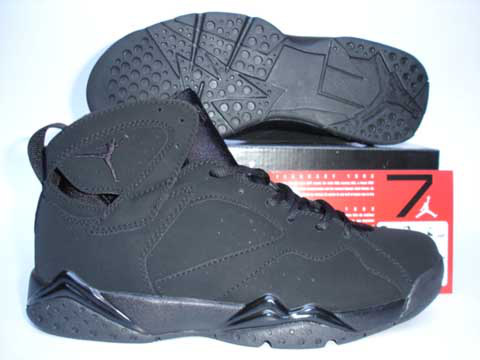 more photos 99a99 9963e air jordan 7 retro all black shoes