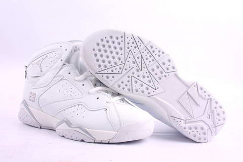air jordan 7 retro all white shoes