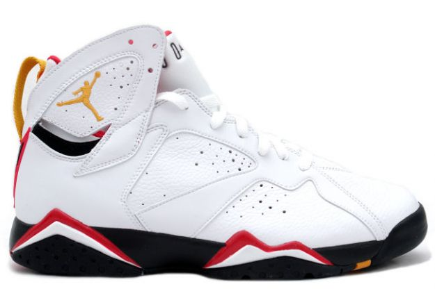 half off 96753 4c47c air jordan 7 retro cardinals white black cardinal red bronze shoes